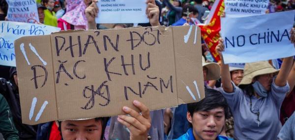 Vietnam protests lead to shutdown of South Korean vegetation