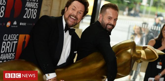 Vintage Brit Awards: Michael Ball and Alfie Boe have to proportion a trophy