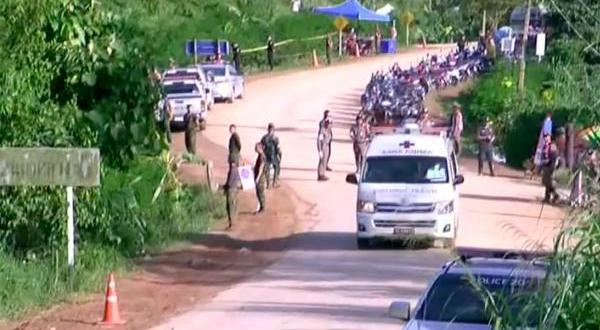 8 boys free of Thai cave; rescuers working to save FIVE others