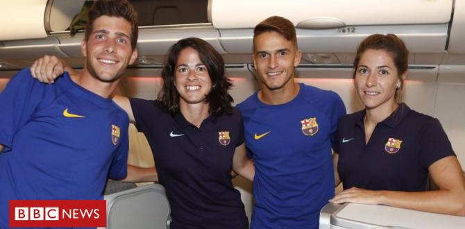 Barcelona puts women's team in economic system whilst males fly up entrance