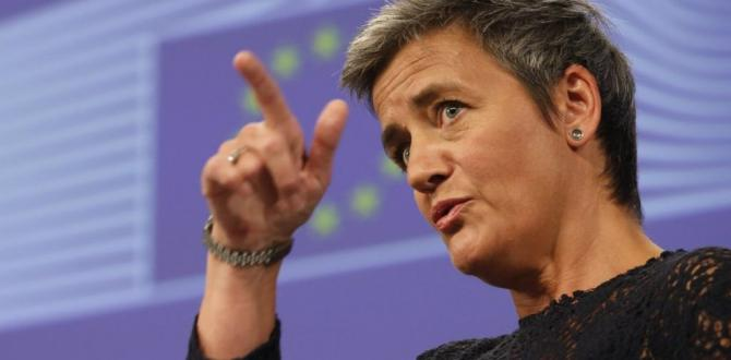 Denmark's Vestager fights EU battles with corporate giants