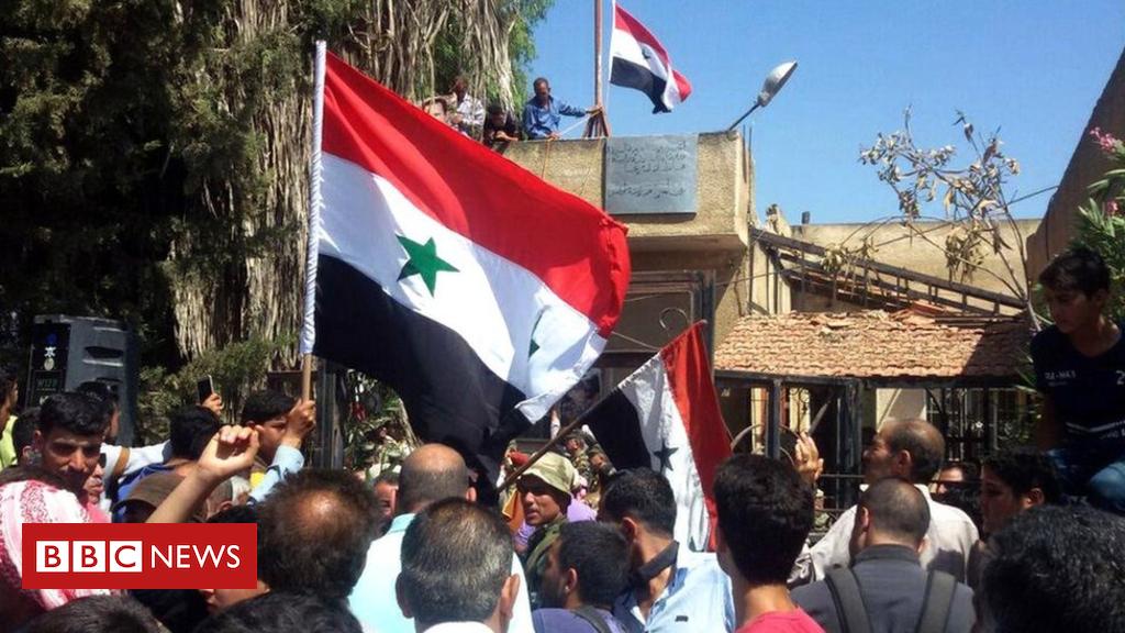 Deraa, birthplace of Syria rebellion, retaken through government forces