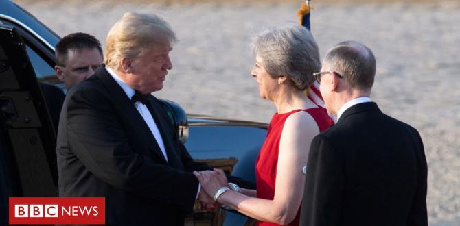 Donald Trump gives May's Brexit plan both barrels