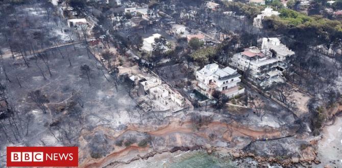 Greek fires: Residents 'worsened disaster' through unlawful development