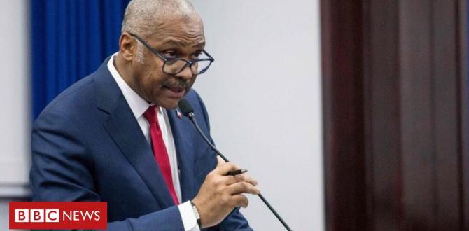 Haiti Top Minister Jack Man Lafontant resigns
