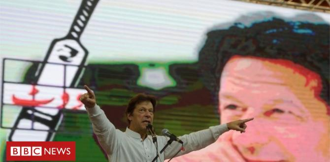Imran Khan: Cricket hero who may well be Pakistan's subsequent PM