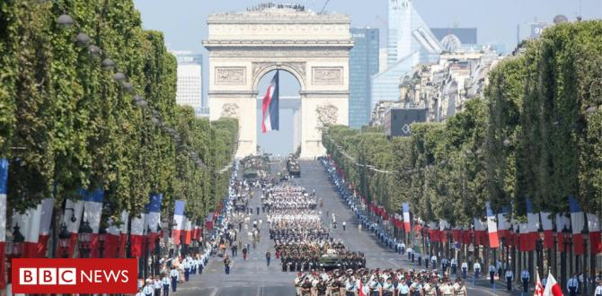 In photos: France marks Bastille Day with spectacular parade