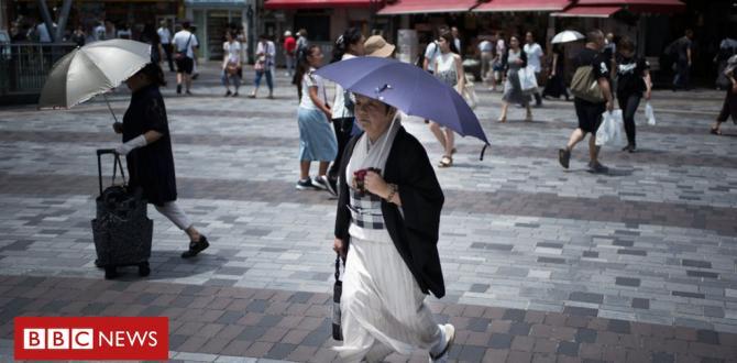 Japan heatwave declared herbal disaster as dying toll mounts