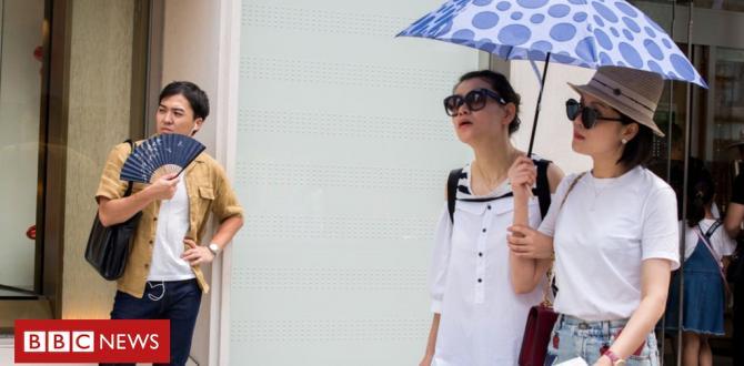 Japan heatwave: Temperature breaks nationwide document