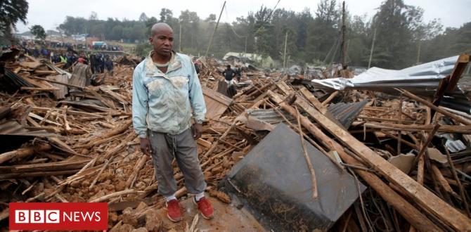Kenya slum demolished to make means for street