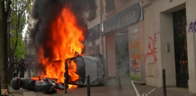 May Day riots: 109 stay in custody in France