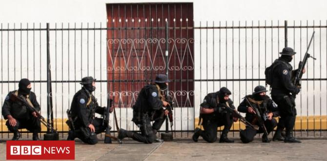 Nicaragua obstacle: One pupil killed as bloody church siege ends
