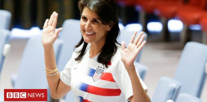 Nikki Haley tells teens to avoid 'own the libs' behaviour