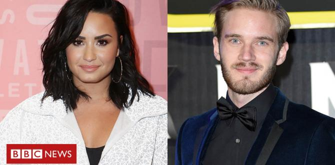PewDiePie 'sorry' for meme mocking Demi Lovato