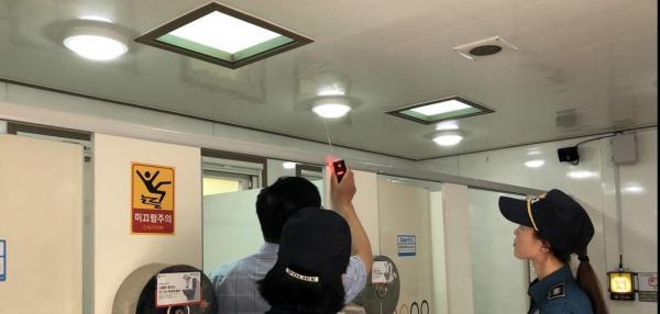 South Korea fighting against hidden cameras on girls