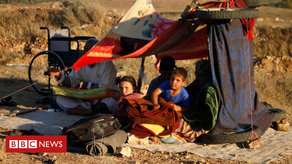 Syria conflict: 270,000 displaced by means of combating in south-west