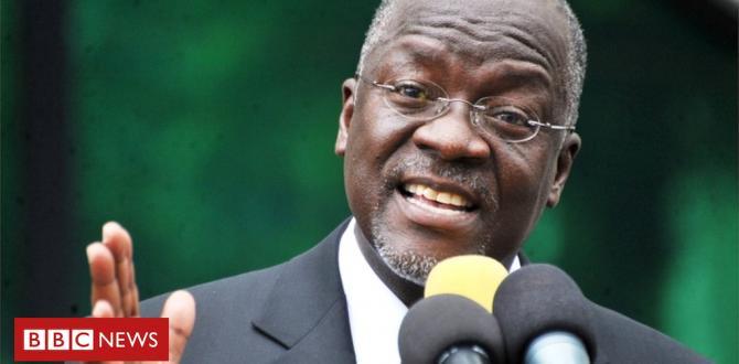 Tanzania's John Magufuli says prisoners are unfastened labour