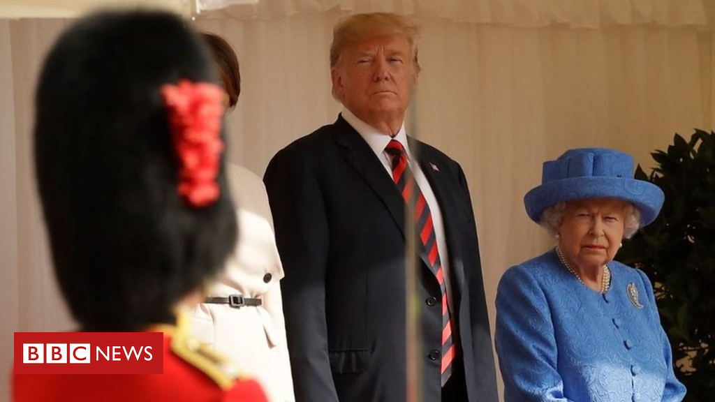 Trump on the Queen: 'She's by no means made a mistake'