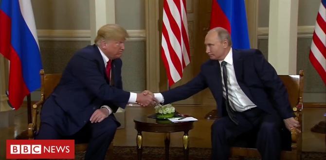 Trump-Putin summit: The handshake