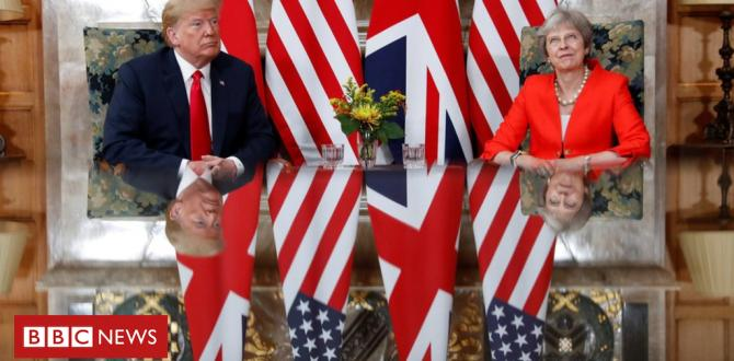 Trump's UK seek advice from and protests