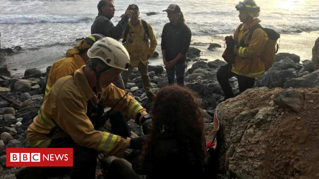 US girl rescued a week after California cliff plunge