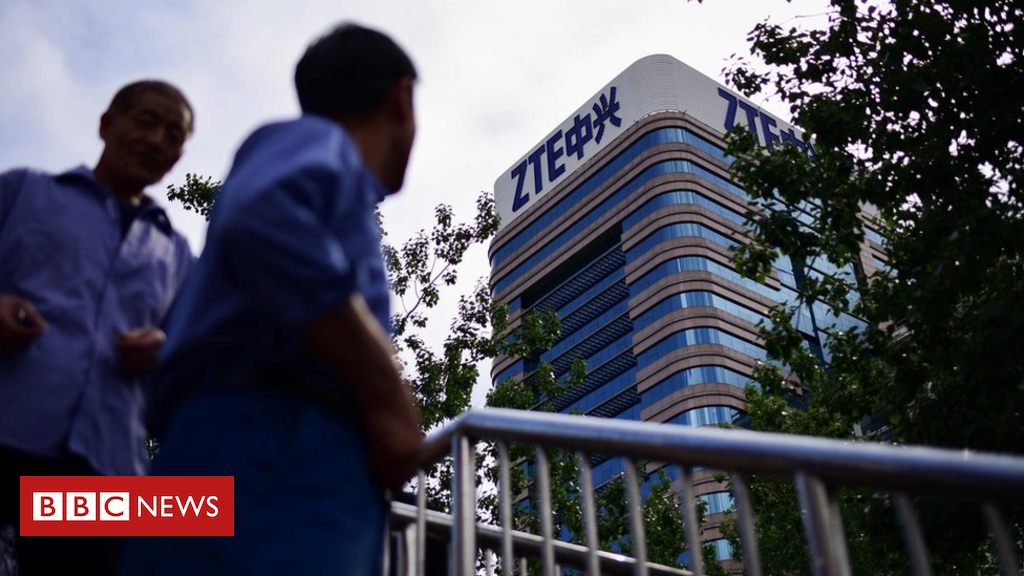 US lifts order towards China's ZTE