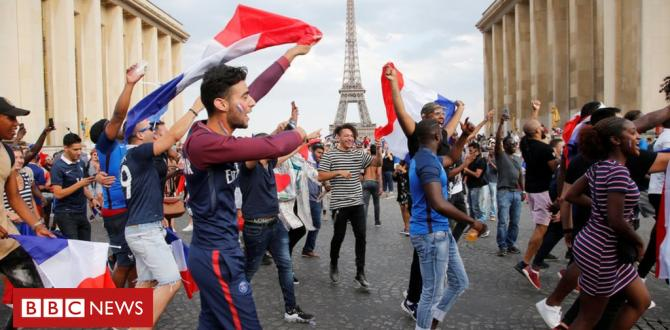 World Cup 2018: Birthday Party as France lifts the trophy