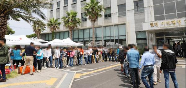 Yemenis struggle to make a residing on South Korea island