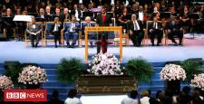 Aretha Franklin's funeral in rates