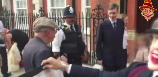 'Abhorrent' Jacob Rees-Mogg protest condemned