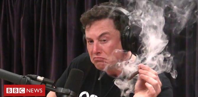 Elon Musk smokes marijuana live on web show