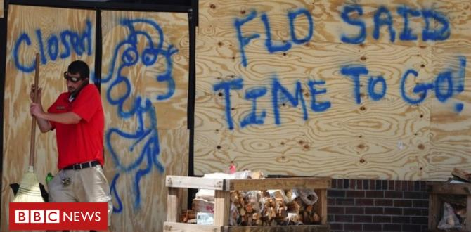 Hurricane Florence: 'Everybody's frightened'