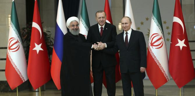 Iran summit holds key to looming battle in Syria's Idlib