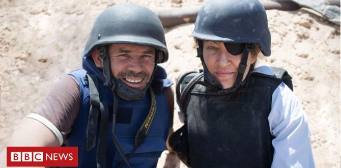 Marie Colvin: Reporter's last days retold for cinema