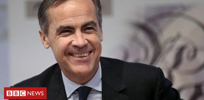 Mark Carney: The 'film star' Financial Institution of england governor