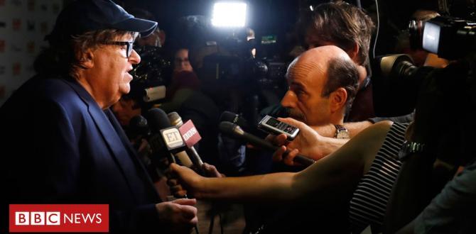 Michael Moore premieres Trump 'warning' film Fahrenheit ELEVEN/9 at Toronto