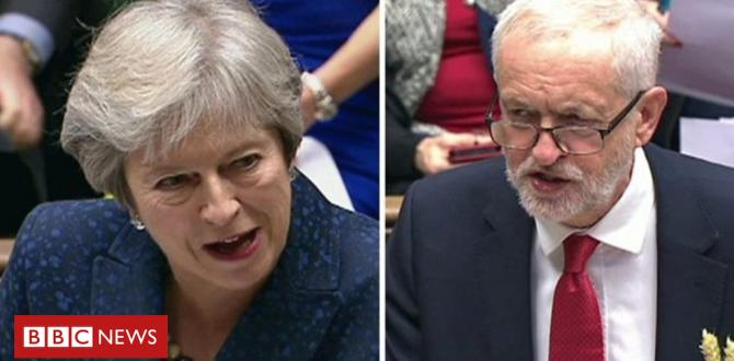 PMQs: Corbyn and May on Universal Credit benefit