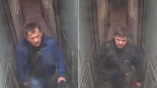 CCTV of Alexander Petrov and Ruslan Boshirov