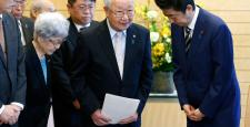Shinzo Abe of Japan re-elected as party head, to stay on as PM