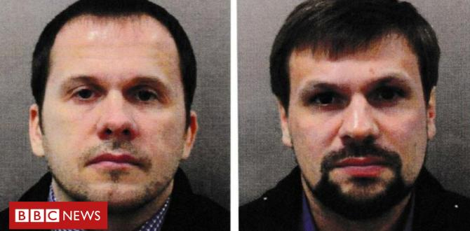 Skripal suspects: 'We were just tourists'