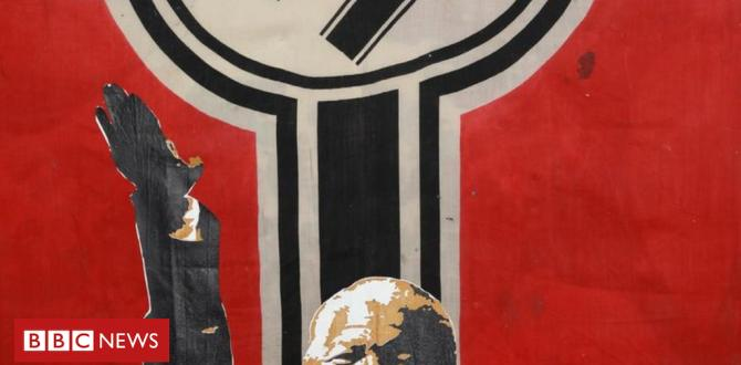 South African artist defends 'Nazi Mandela' paintings