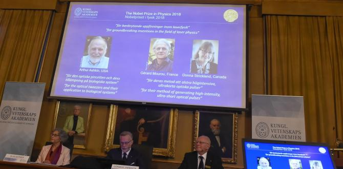 Arthur Ashkin, Donna Strickland, Gerard Mourou win Nobel for work with lasers