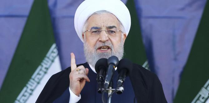 Hassan Rouhani accuses U.S. of seeking 'regime change' in Iran