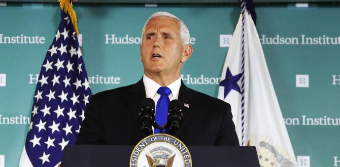 Mike Pence outlines China's election meddling strategy