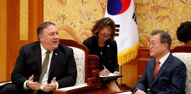 Mike Pompeo: North Korea talks progress