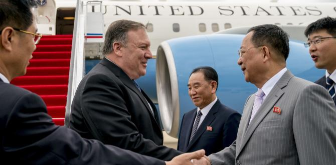 North Korean media silent on Mike Pompeo meeting in New York