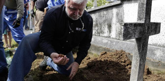 Remains of US submarine innovator exhumed in Panama