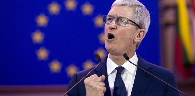 Tim Cook, Apple CEO, backs privacy laws, warns data being 'weaponized'