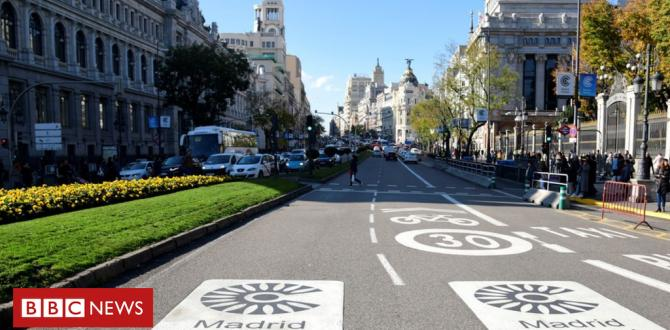 air pollution: Madrid imposes tough measures on motorists