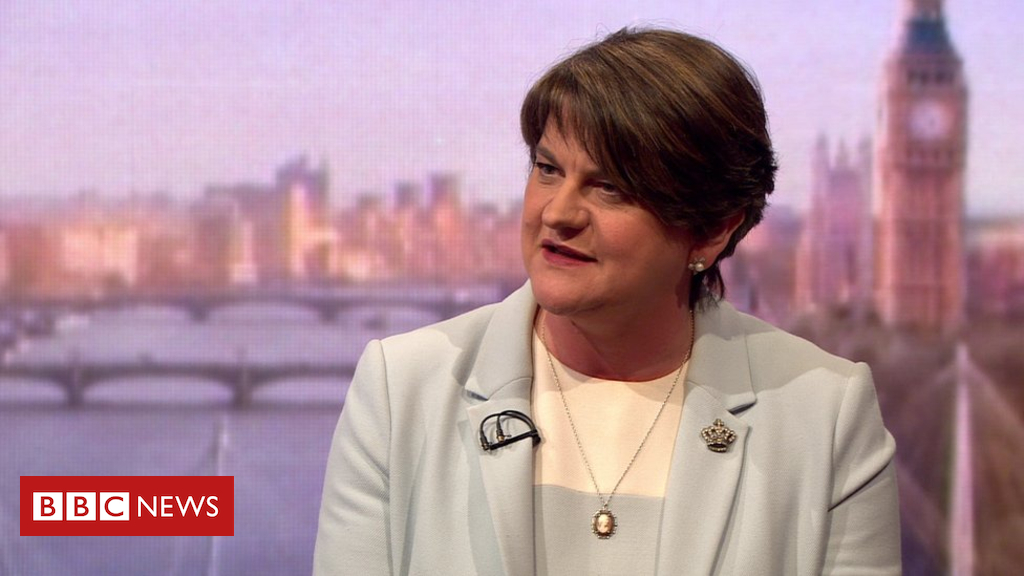 Brexit: Arlene Foster says DUP disappointed with PM